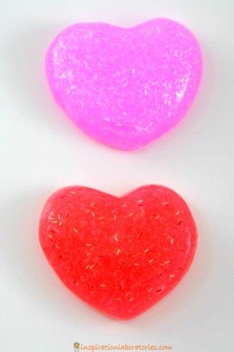 2 ingredient glitter slime