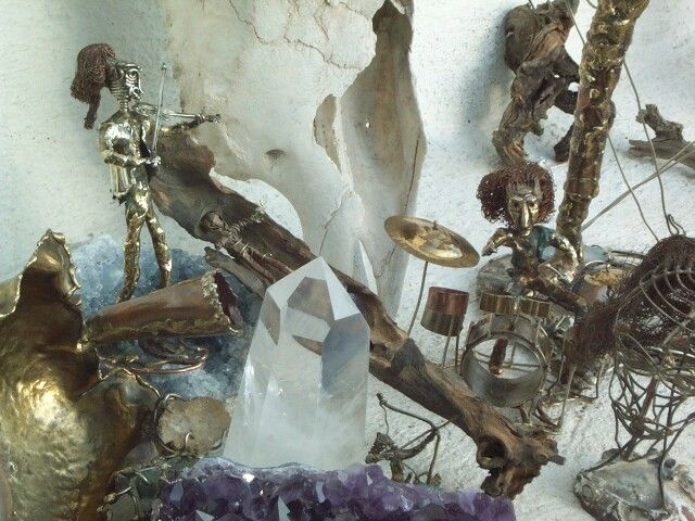 Esculturas metal