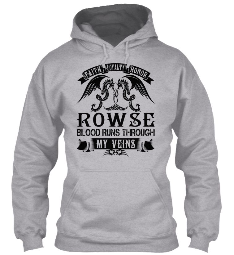 ROWSE - My Veins Name Shirts #Rowse