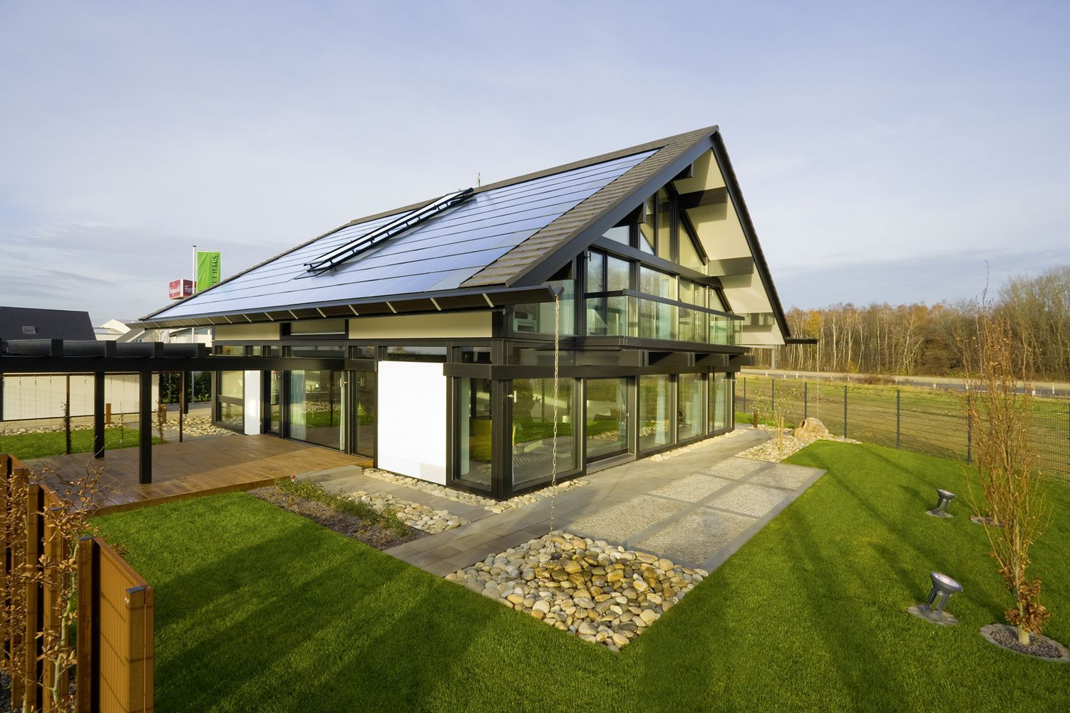 Huf Haus Saw one being constructed in Kent on Channel 4s