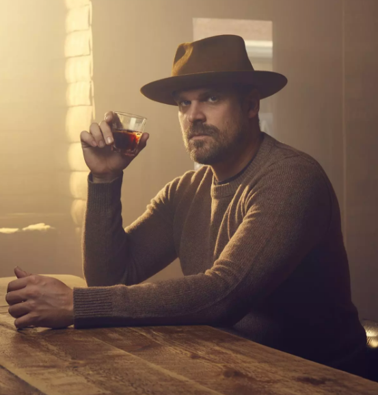 David Harbour- did it get hot in here?