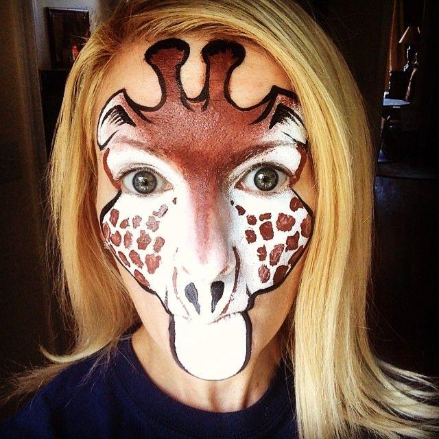 Pin on Face Painting - Animals, Savanna