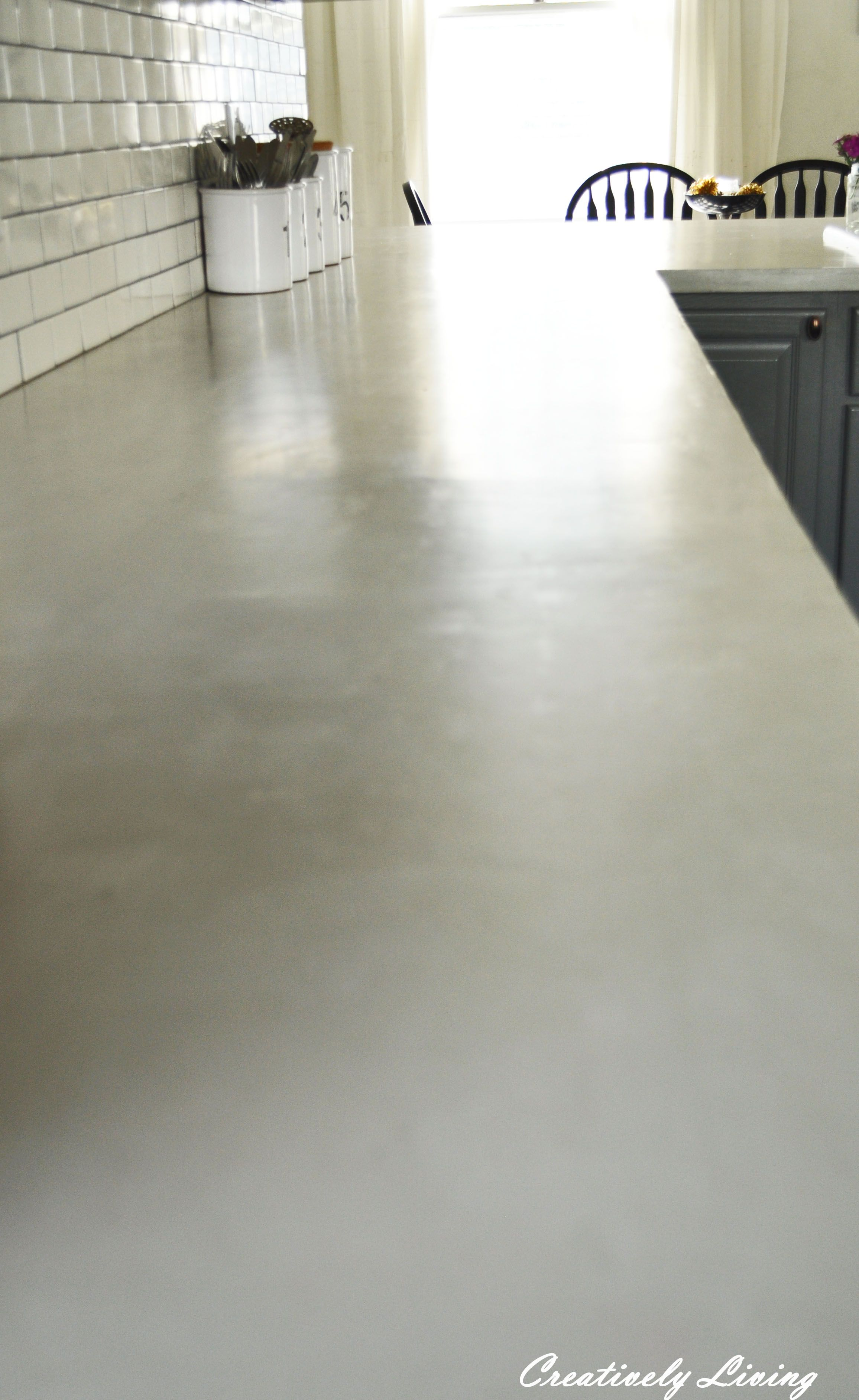 Light Colored Cement Countertops Ardex