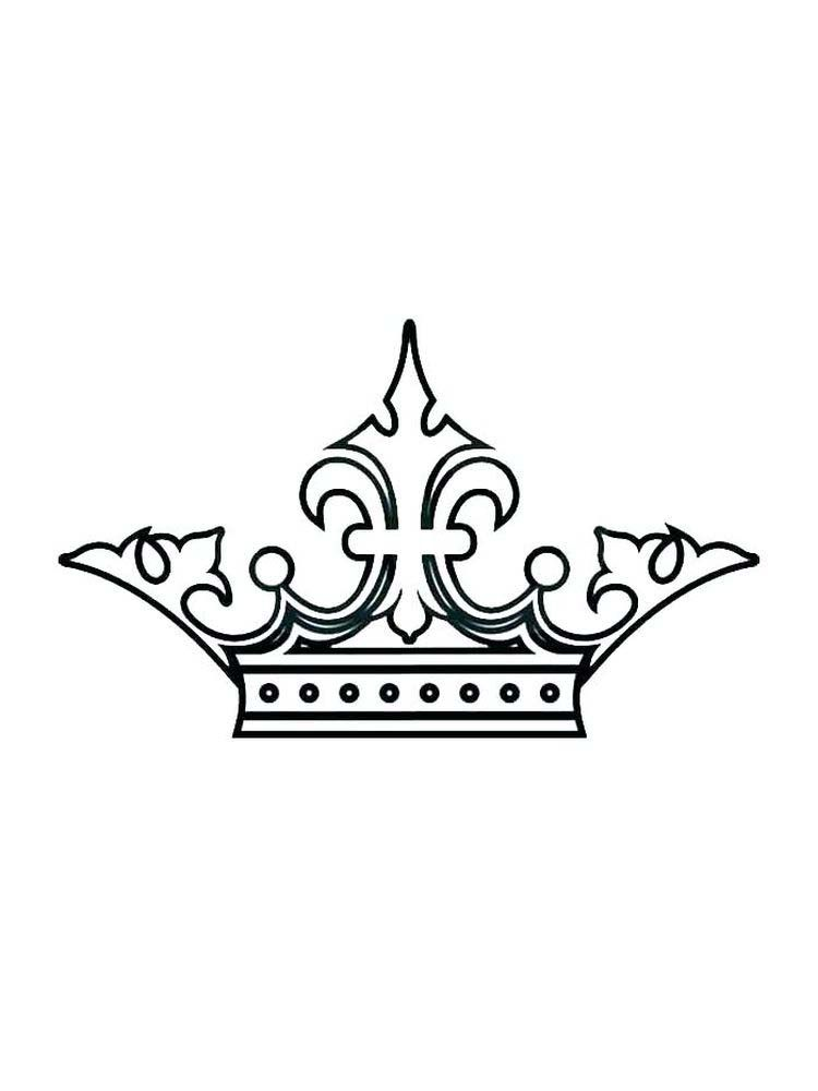 Free Crown Coloring Pages Pdf For A King The Crown Is A Symbol Of His Power By Wearing A Crown He Will Look More A Coloring Pages Cool Coloring Pages Color