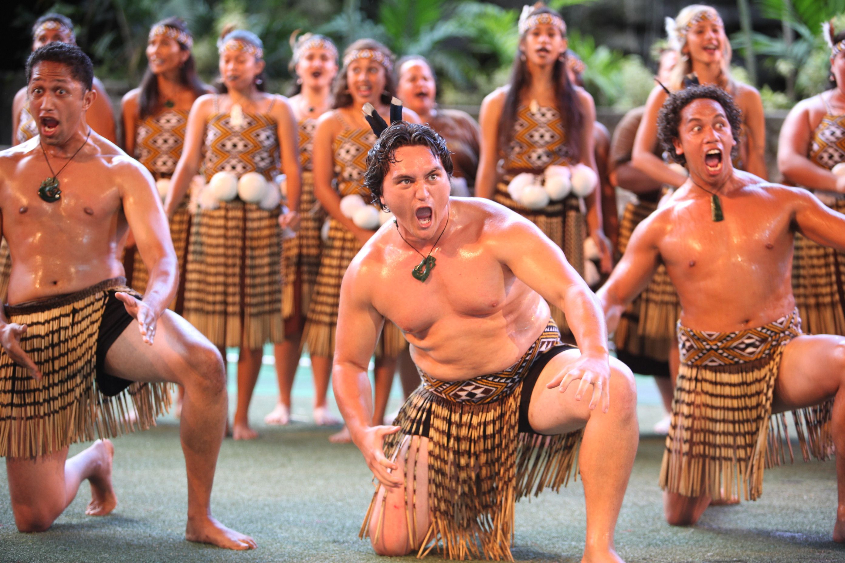 Maori Natives: Indigenous Polynesian People Of New