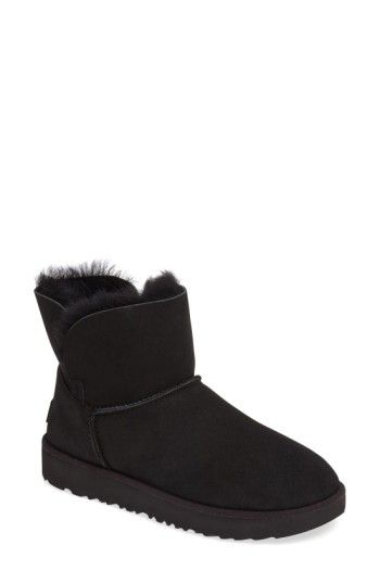 black mini classic ugg boots