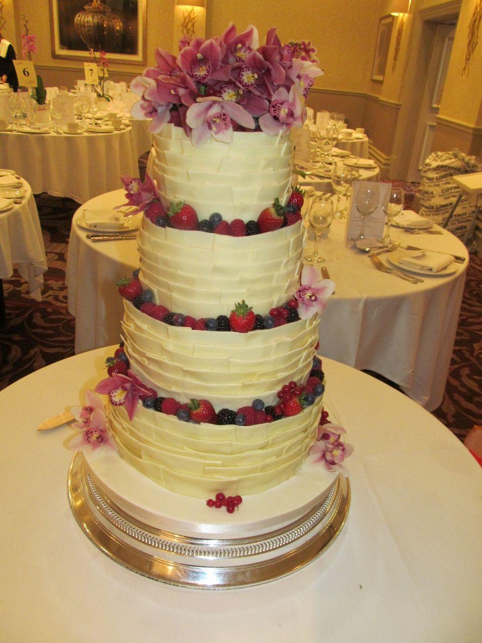 White Chocolate Wedding Cake Recipe - Wedding Cake Flavors