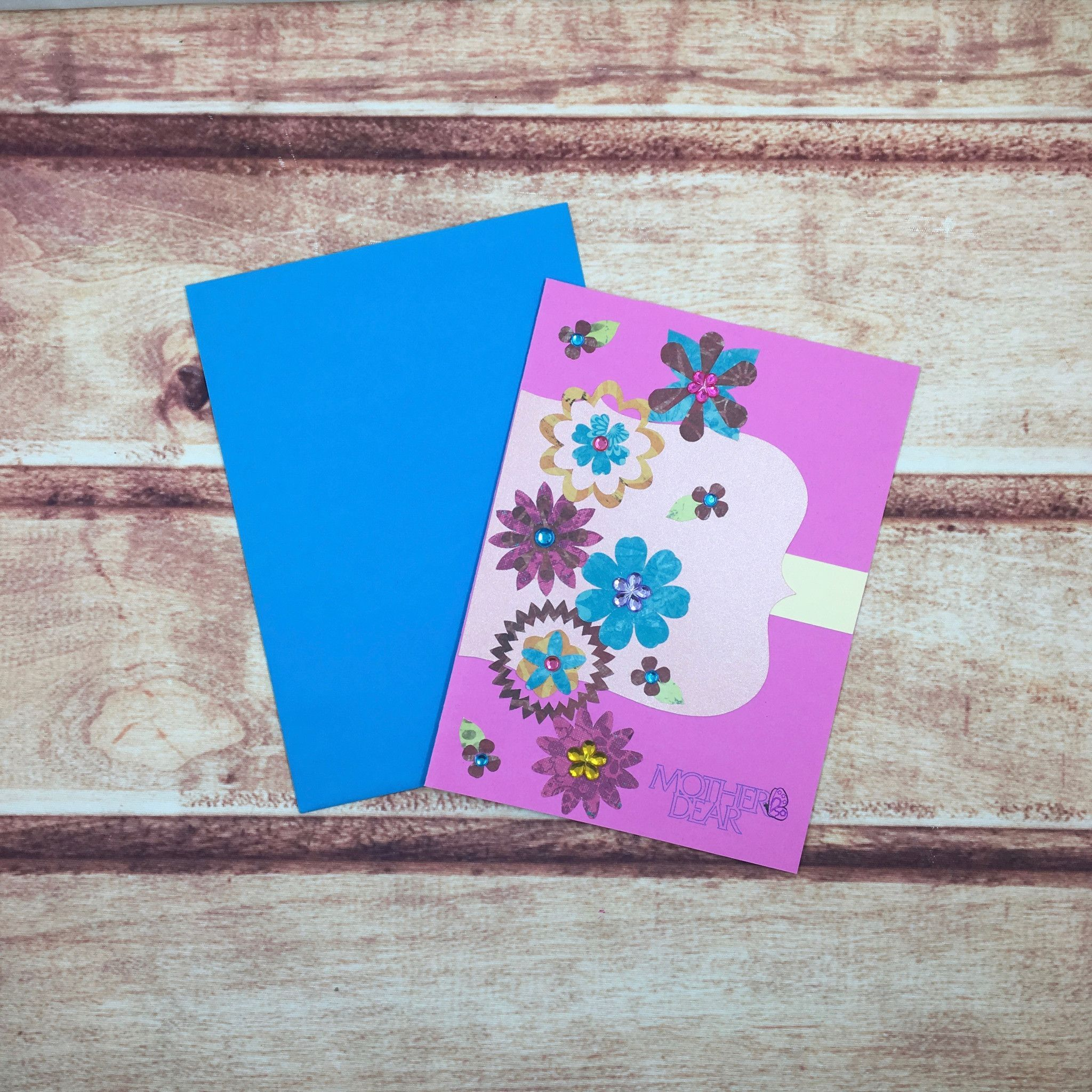 Mother's Day Flower Sash Card