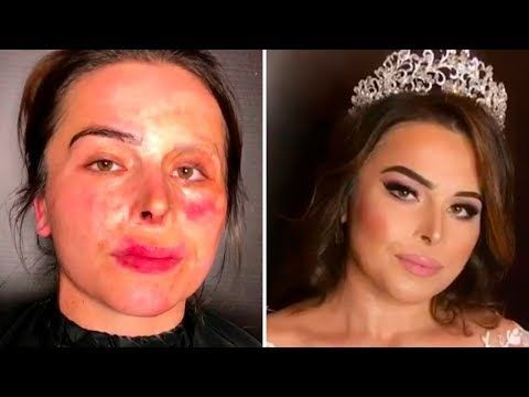 20) SHOCKING Makeup Transformations Goar Avetisyan and first