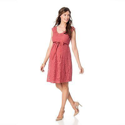 b04418c0d20 Oh Baby by Motherhood™ Lace Babydoll Dress - Maternity