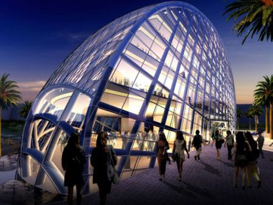 James Laws High Tech Cybertecture Egg For Mumbai Building ArchitectureInterior