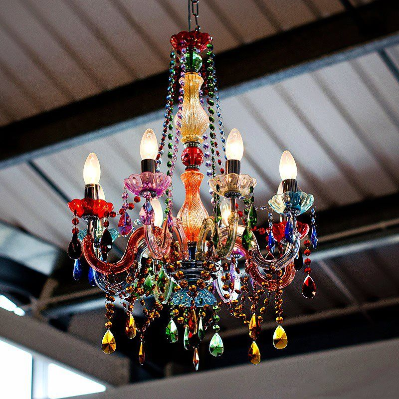 I Love This Boho Chandelier Perfect