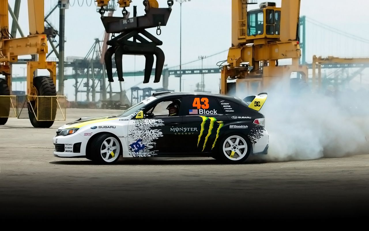 Ken Block, Co Founder Of DC Shoes, Has Always Been Known For Performing  Some Gnarly Stunts Behind The Wheel Of Both His Souped Up Subaru Impreza  WRX STi And ...
