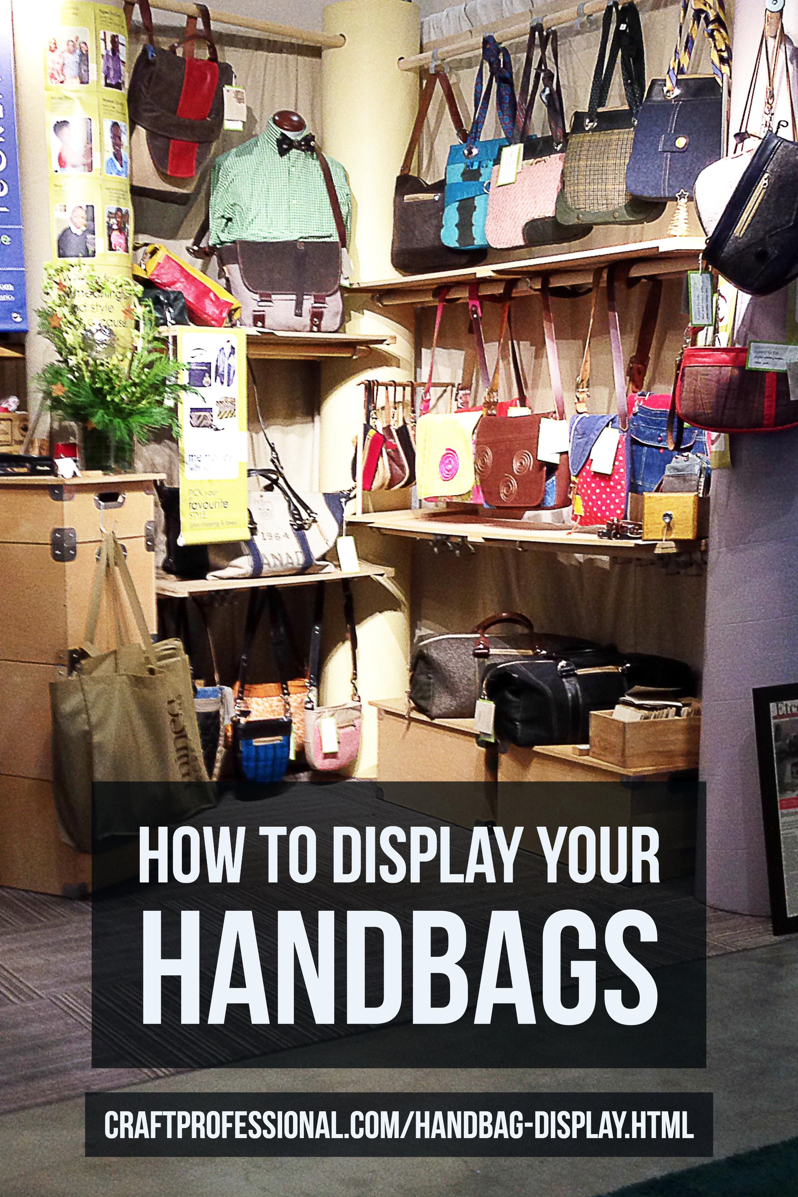 9 Photos Of Handbag Displays At Craft Shows Click Through For Lots Inspiration