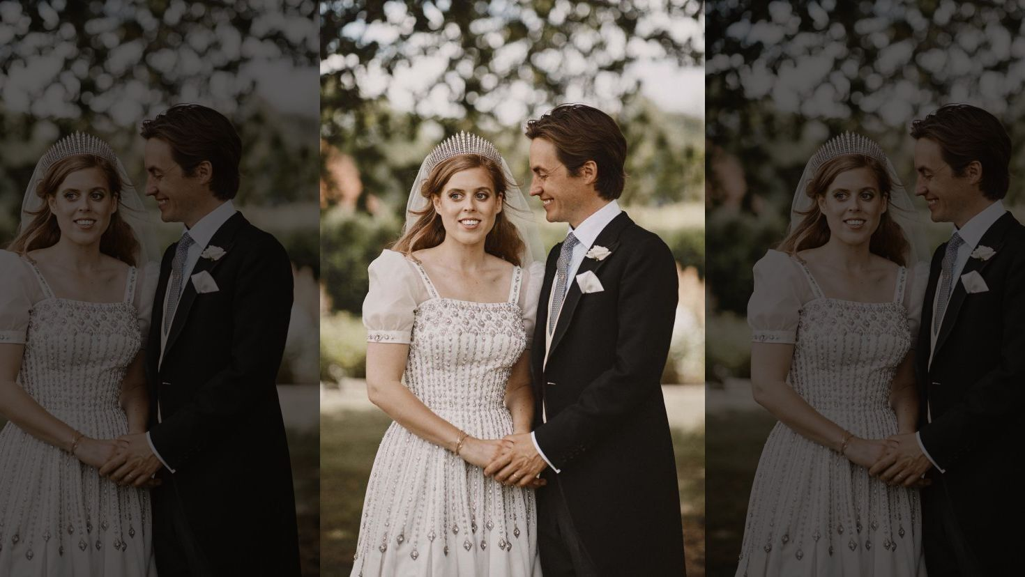 Princess Beatrice marries in Queen Elizabeth's dress