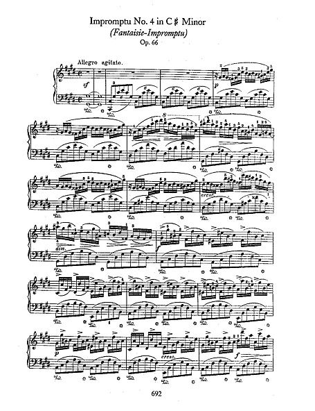 Fantaisie Impromptu By Chopin How Do You Master This One Musicnote At A Time Pianosheetmusic Music Music Lessons For Kids Music Notes