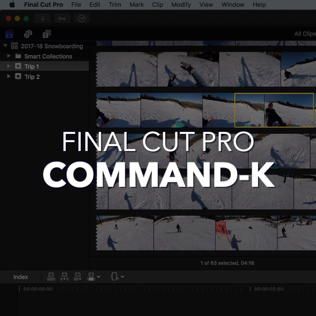 Command-K | Show/Hide Keyword Editor | Use this shortcut to