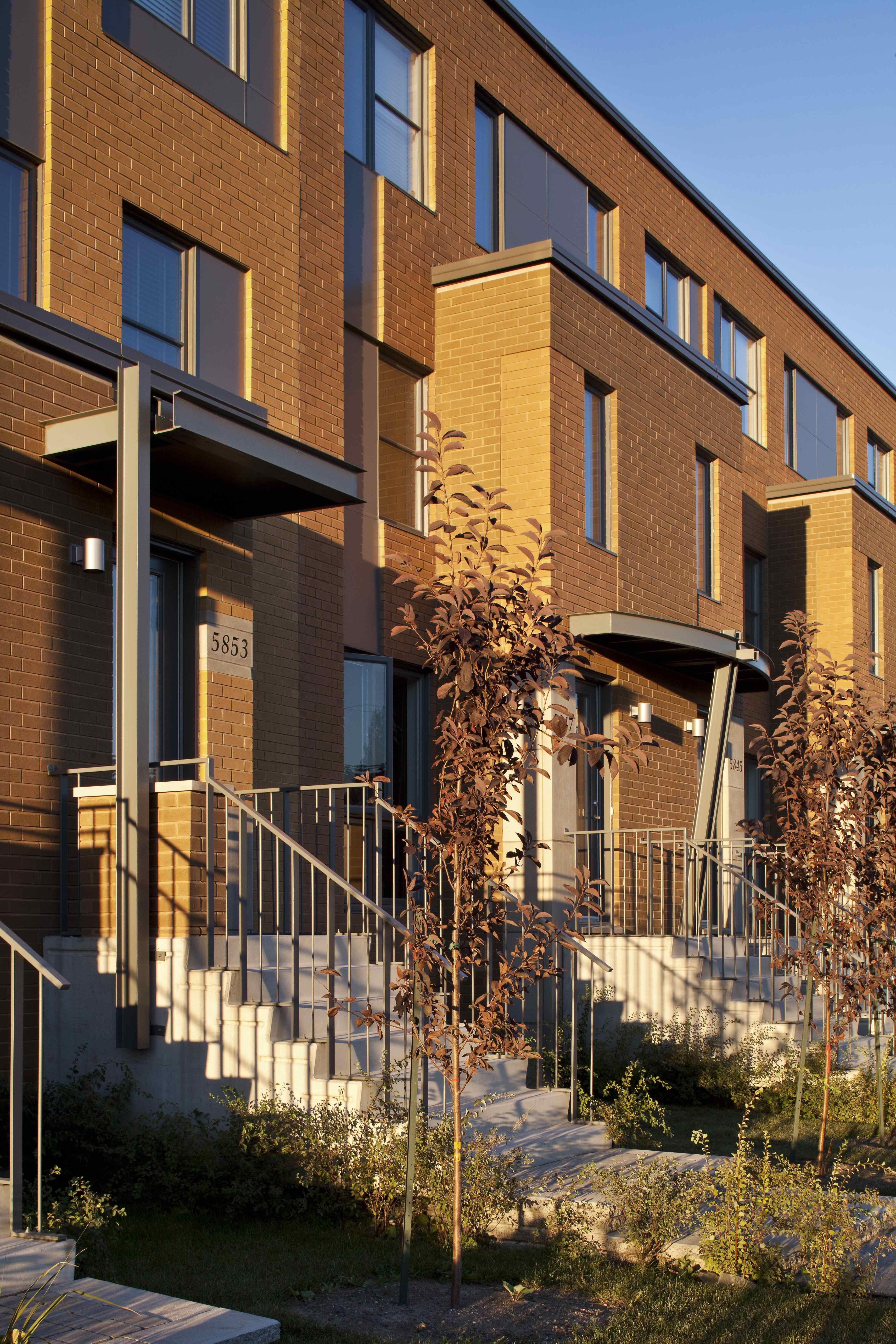 Maison de ville rue Anne Courtemanche Habitations laurendeau
