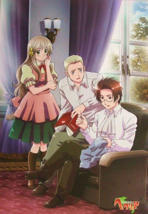 Hetalia World Series Anime FRA-Sub