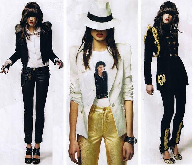 Salvaje Estilo Michael Jackson Disfraz De Michael Jackson Ropa Vestuario De Los 80s