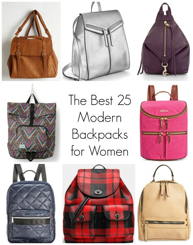 The Best 25 Modern Backpacks for Women Fashionable backpacks women ...