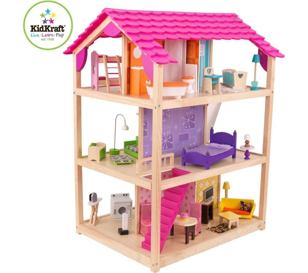 Kidkraft maison de poupées so chic prix promo maison de poupées carrefour online 349 00 €