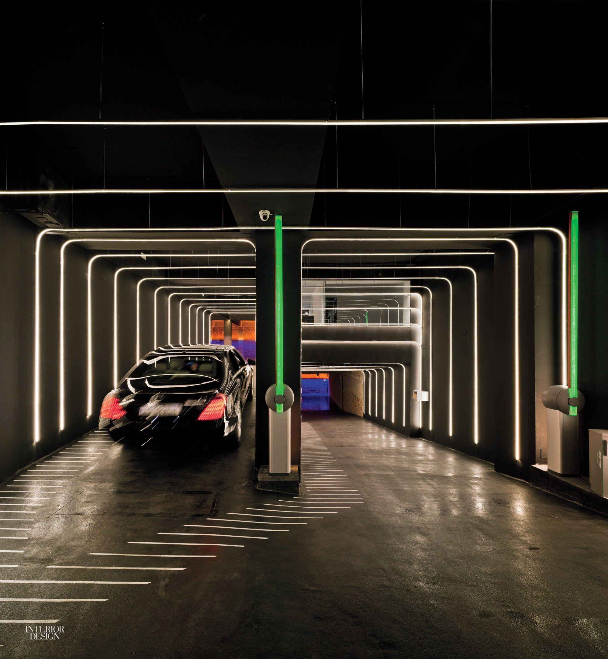 Pin By Tin Wong On Car Park Lighting Design Interior Garage Design Interior Parking Design