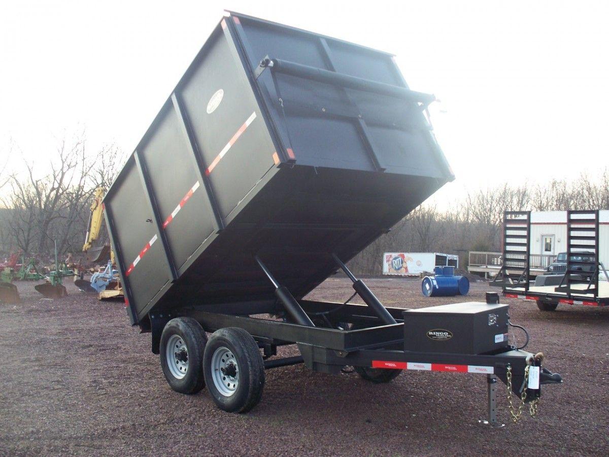 D710dx 7 x 10 ringo dump trailer in 2020 dump