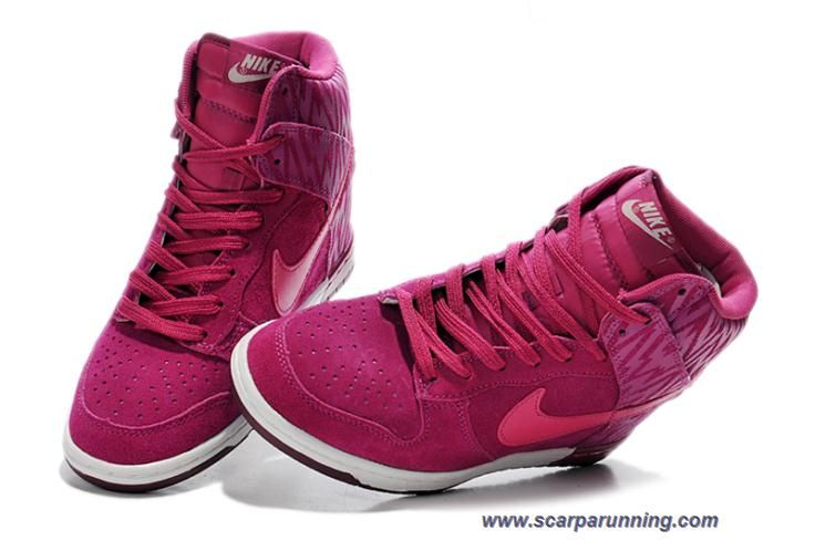 info for 53d63 25dc6 scarpe online prezzi bassi Nike Dunk Sky High Print Zebra Rose Rosso Ice  Bianco 543258-