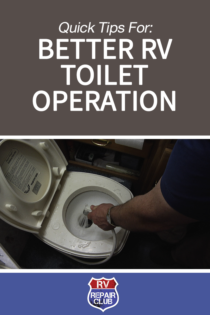 Quick Tips For Better Rv Toilet Operation Camping