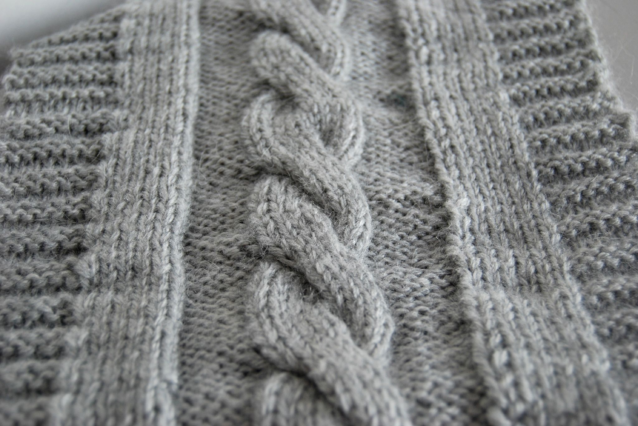 tricoter torsades simples