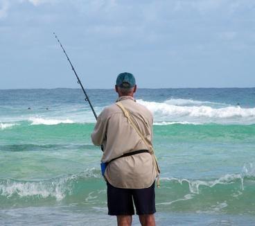 Shore fishing on st george island florida saint george for Florida surf fishing