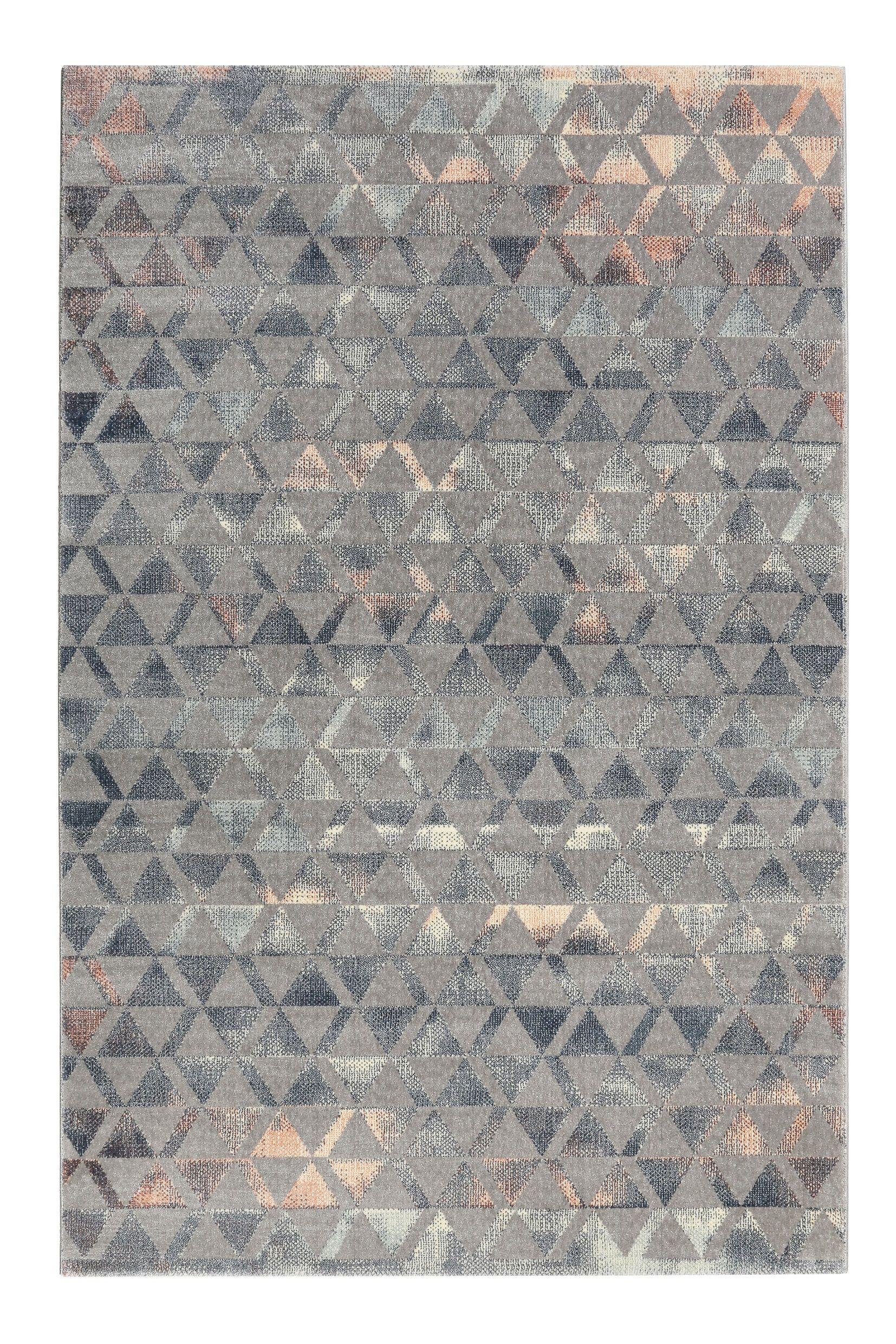 Teppich Grau Taupe Rosa Kurzflor Pearl 2 0 Wecon Home Kurzflor Teppiche Moderne Teppiche Und Rosa