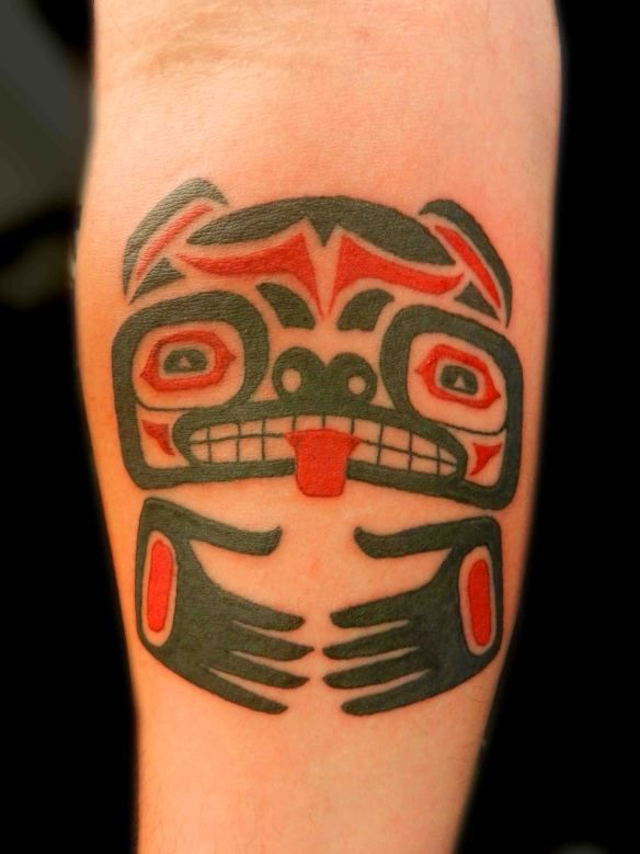 830d32f1a tattoo-truro-indian-tattoo-aztec-native-american-tribal-black-red-arm-man-