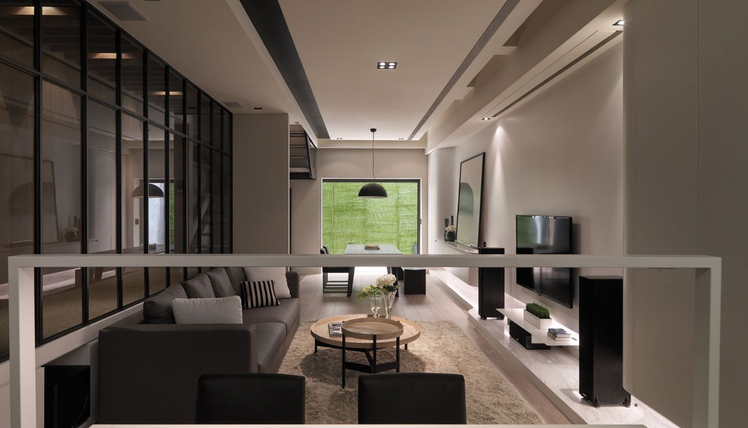 Contemporary Designs For Living Room Unique Contemporary Loft Style Apartment Design Makes You Feel Stunning 2018