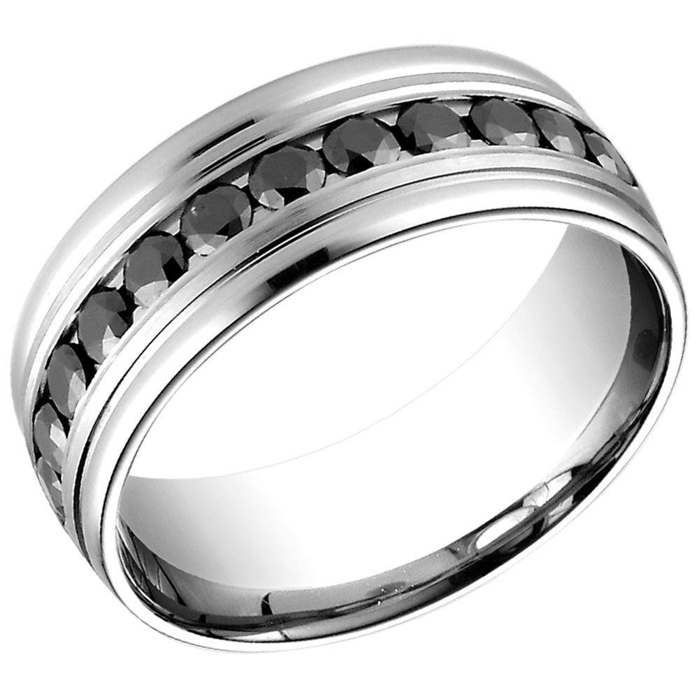 Black engagement rings for men 7 black diamond wedding