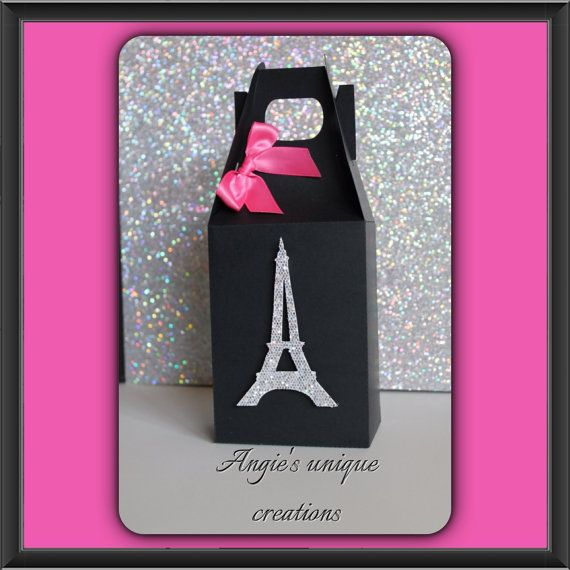 Paris Party Favor Goody Bags On Etsy 36 00