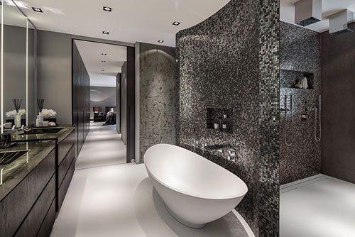 Slimme indeling badkamer modern badkamer indeling bad en douche