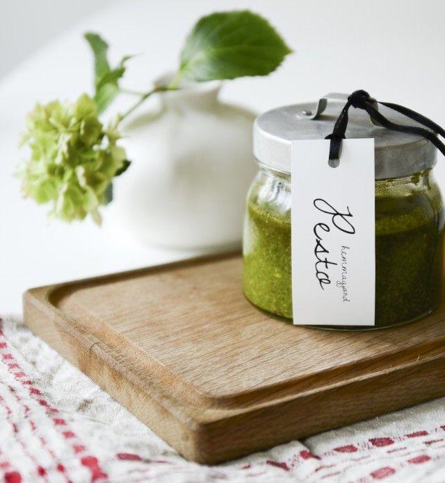 Häng med mig vidare till Elle decoration Nut free, Arugula and Pesto - küche zum verschenken