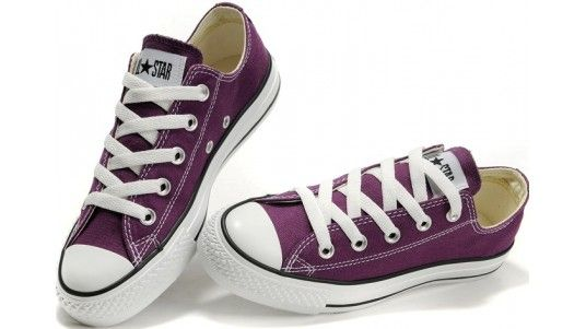 d2065ada723cd7 Converse Shoes Purple Chuck Taylor All Star Classic Womens Mens Canvas  Sneakers Low - Dereo Shop
