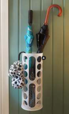 Highlights from the New 2013 IKEA Catalog> entry storage w/plastic bag dispenser