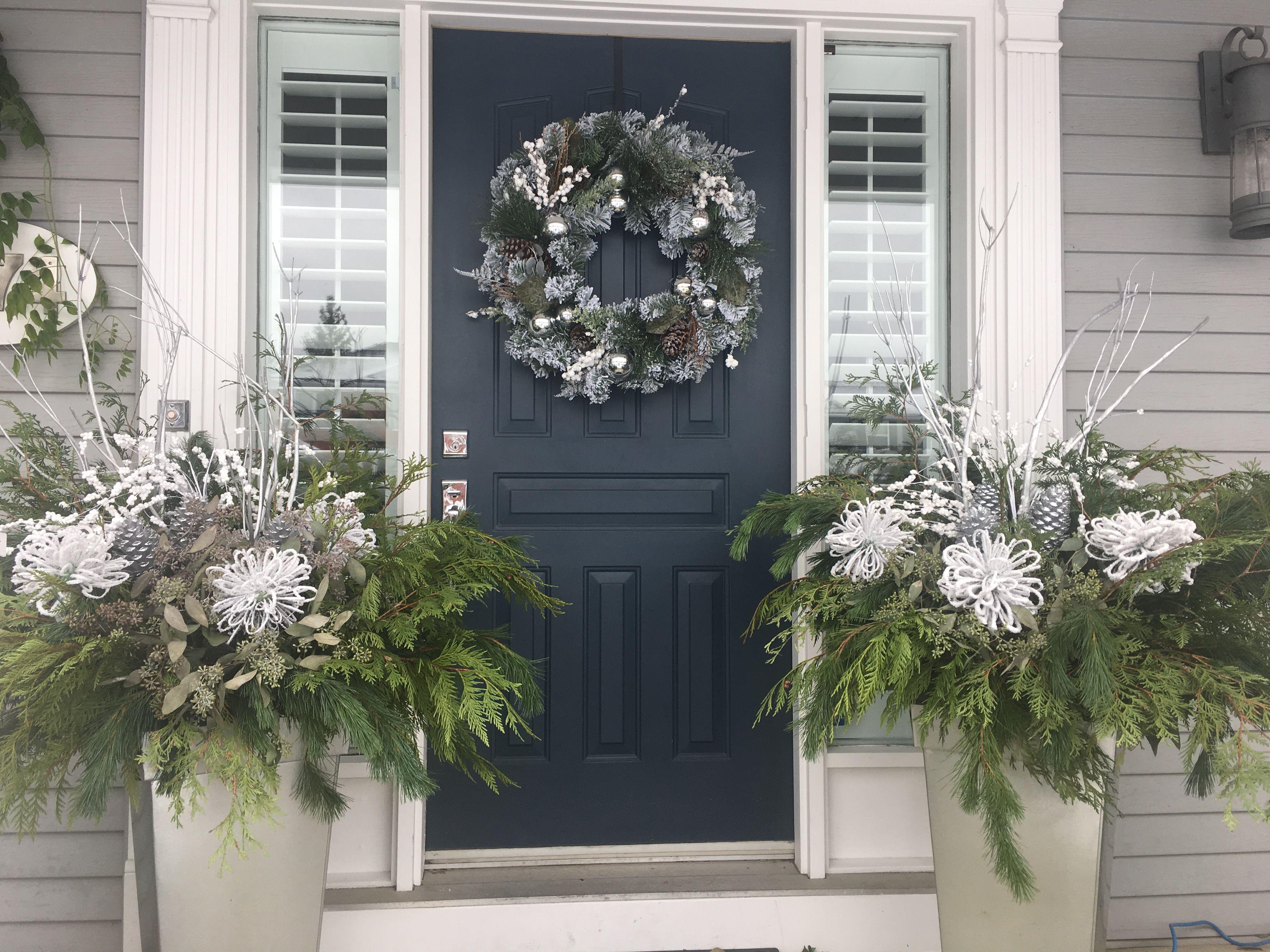 Window frame decor with wreath  pin by kim perkins on christmas  pinterest  christmas
