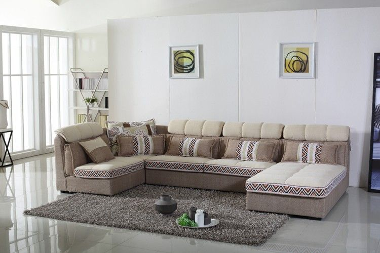 2016 Wholesale Latest L Shaped Living Room Furniture Sofa Set Design