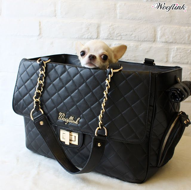 Chic Bag 2 New Color Matt Black Designer Dog Clothes Designer