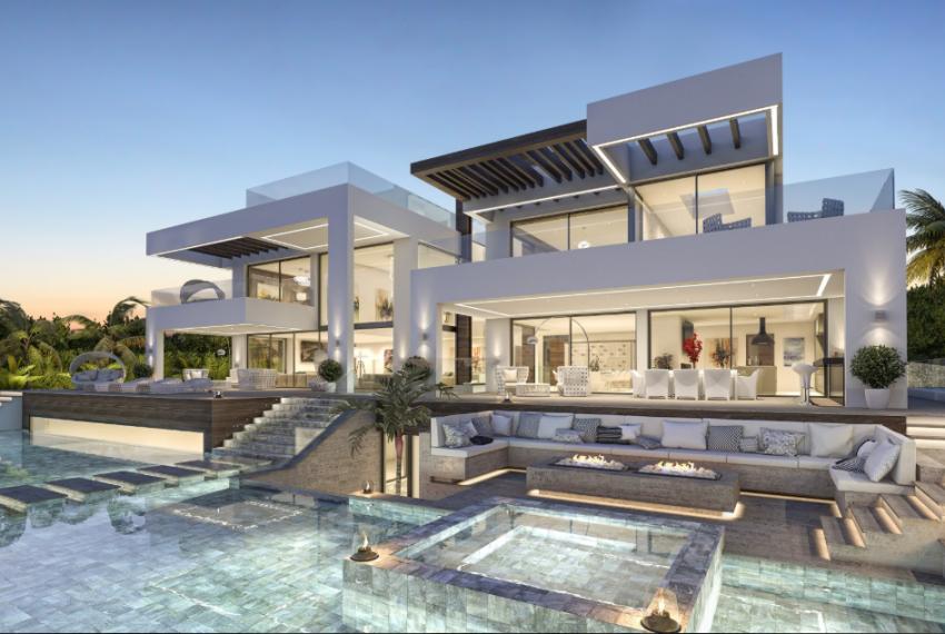 Beautiful Luxurious Modern Villa In La Cerquilla Luxury Homes