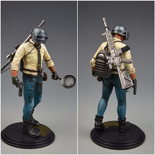 H1Z1 Player Unknowns Battle Grounds PUBG Playerunknowns Battlegrounds Model Doll 14 style Game Figurine Action Figure Review