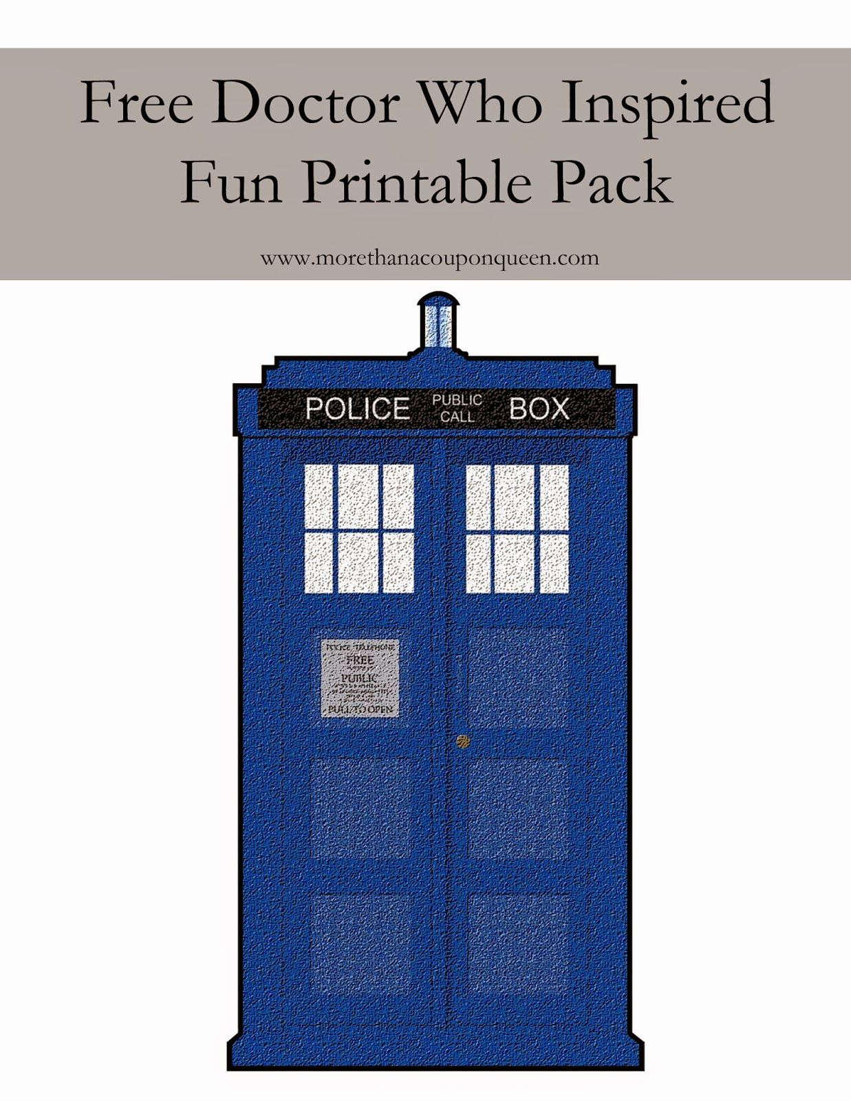 Free Doctor Who Printables Doctor Who Printable Doctor Who Crafts Doctor Who Party