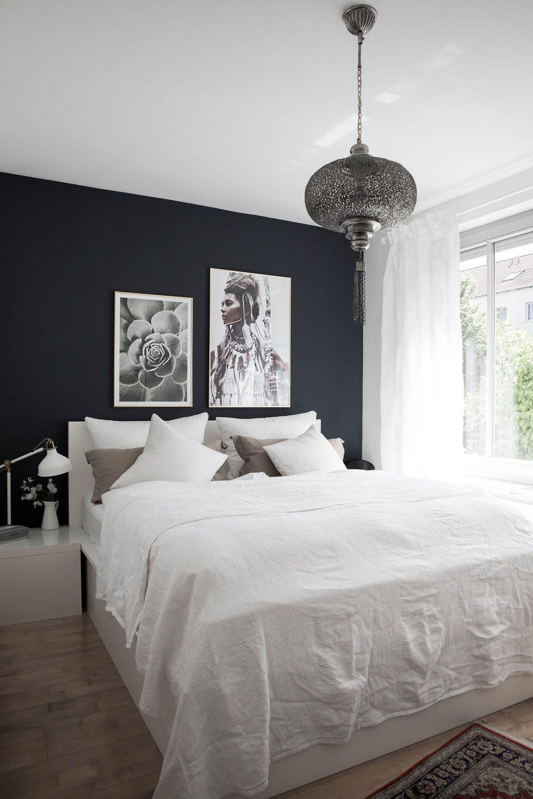 Schlafzimmer – wohnen auf kleinen Raum mit Bildern ...
