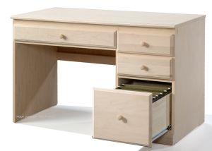 Maple Student Desk In Unfinished Real Wood Furniture Furniture