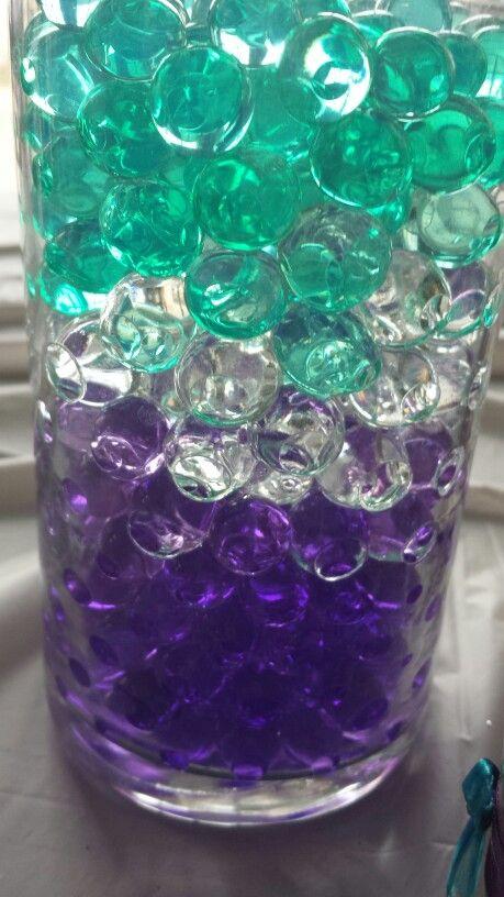 Water bead centerpiece wedding ideas pinterest beads